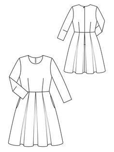 simple design - might need to fit bodice better but skirt is pleated and full