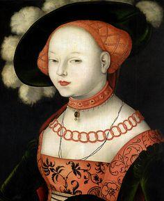 Hans Baldung Grien - Portrait of a Lady, 1530