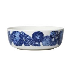 Marimekko's Oiva - Mynsteri bowl 4 dl, blue - white