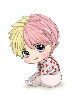 Cute Wallpapers Discover V Bts Chibi, Chibi Anime, Cartoon Art, Cute Cartoon, Bts Kawaii, Kawaii Chibi, Taehyung Cute, Bts Anime, Anime Naruto