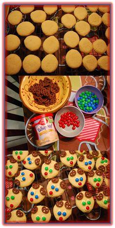 Super Easy Reindeer Cookies