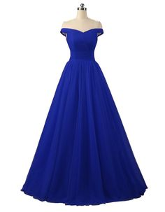 Nina A-line Tulle Prom Formal Evening Dress Ball