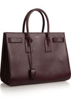 Saint Laurent | Sac de Jour textured-leather tote | NET-A-PORTER.COM