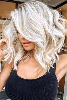 Blonde Balayage Highlights hairstyles Ash Blonde Hair Color Ideas to Inspire You Ash B Medium Hair Cuts, Medium Hair Styles, Curly Hair Styles, Brassy Hair, Lace Hair, Bleached Hair, Ombre Hair Color, Blonde Balayage, Blonde Wig