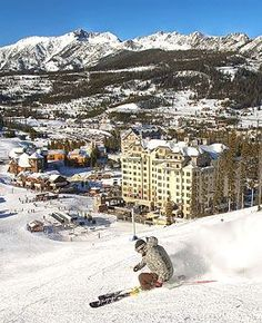 Discover Montana winter adventure at Big Sky. You'll find plenty of snowy fun!