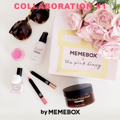 Collaboration #1 Memebox X Pink Diary - SUPERBOX