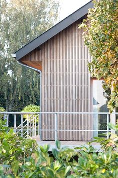 House In The Woods, My House, Zinc Cladding, Prairie House, Roof Detail, Habitats, Exterior, Outdoor Structures, Ferret