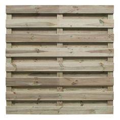 Tuinscherm 'Excellence' in geïmpregneerd grenenhout 180 x 180 cm