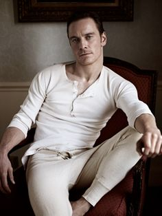 Michael Fassbender by Richard Phibbs