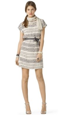 #engagementparty Club Monaco Diana Silk Dress. $190. Pretty in Patterns. @Cheryl Blondin Monaco