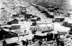 Delamar, Nevada--looking north along its main street