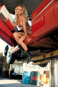 Chevy nova with naked girl very valuable