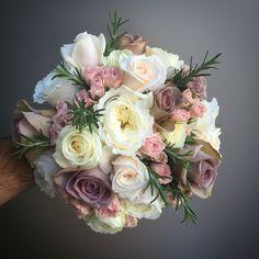 Wedding bouquet – The Best Ideas Rustic Wedding Flowers, Bridal Flowers, Flower Bouquet Wedding, Floral Wedding, Bride Bouquets, Floral Bouquets, Flower Decorations, Wedding Decorations, Dusty Rose Wedding