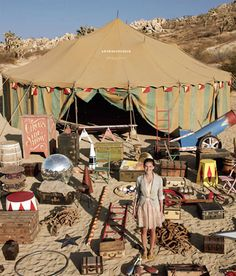 the new anthropologie catalog rented their props from the same place we did for CIRQUE DU SO LAME almost a year ago! Old Circus, Circus Art, Night Circus, Circus Theme, Circus Tents, Creepy Circus, Circus Cakes, Circus Train, Circus Birthday