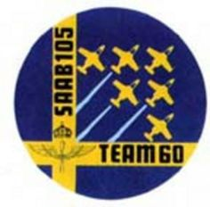 Saab 105 Team 60  Swedish Air Force