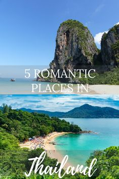 If you're planning to go on a honeymoon or just want to get away with your romantic partner to an exotic location, you might want to consider Thailand. There are romantic places that Thailand can offer besides their beautiful beaches. #thailand #romance