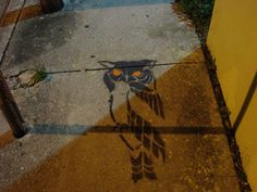 My Owl Barn: Collection: Owl Graffiti and Street Art Part II