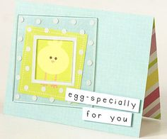 Easter Card for Scrapbooks Etc.