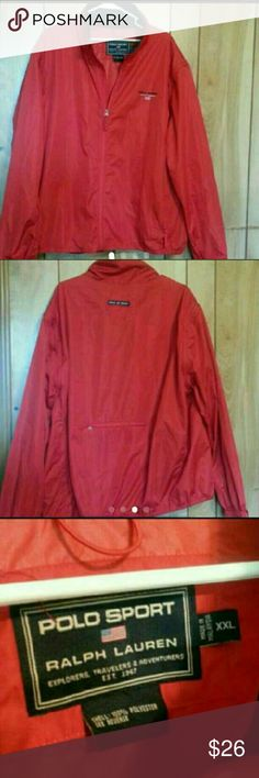 Ralph Lauren Polo jacket Red jacket size xxxl Jackets & Coats Windbreakers
