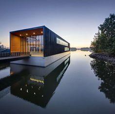 Arctia Headquarters by k2s, Helsinki, Finland. Black Box Buildings Loom Large Among A+ Finalists - Architizer.
