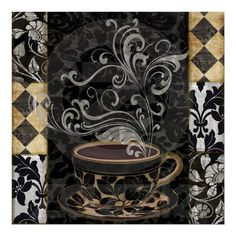 This would be awesome wallpaper for my coffee bar / drink station.