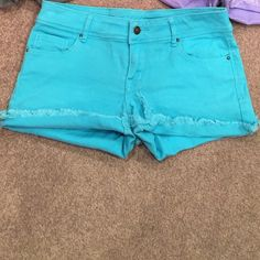 Delia*s blue shorts Good condition, no flaws. Also listed in a bundle with other Delia's shorts. Delia*s Shorts Jean Shorts