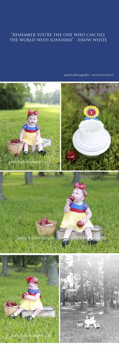 Sweet Snow White | Imagination Session | Fayetteville, NC Lifestyle Photographer | Patty K Photography