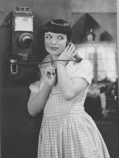 "Louise Brooks in ""Just Another Blonde"" (1926)"