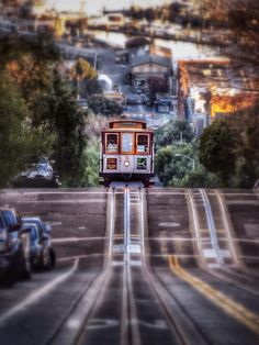 cable car # 50 San Francisco, California. Groovy picture.