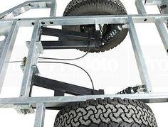 High Quality Off-Road/Overland/Expedition Trailer Chassis. Trailer Ramps, Toy Hauler Trailers, Trailer Plans, Trailer Build, Camper Trailers, Off Road Teardrop Trailer, Off Road Trailer, Expedition Trailer, Overland Trailer