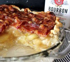 Bacon and bourbon apple pie