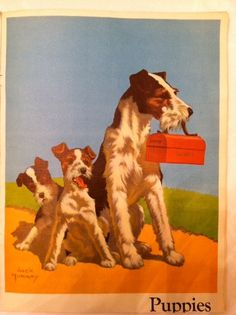 vintage children's art posters - Google Search