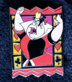 View Pin: Alice In Wonderland Starter Set - Queen of Hearts ONLY