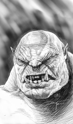Orc by Lonklang on DeviantArt