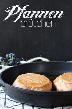 Brötchen aus der Pfanne schnell Rezept Pfannenbrötchen