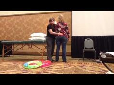 Deb Lawrence, President of the Informed Beginnings certifying cooperativeforChildbirth Educators introduces a technique she's developed to open tight hips and pelvic muscles in labor or late pregnancy. Kate Andrews took the video