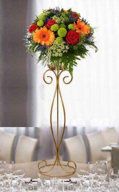 of 5 Candelabras Candelabras & Centerpieces Candelabras & Centerpieces Candelabra Centerpiece, Floral Centerpieces, Wedding Centerpieces, Floral Arrangements, Wedding Decorations, Stage Decorations, Flower Decorations, Flower Stands, Deco Table