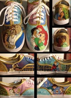 Disney shoes :)