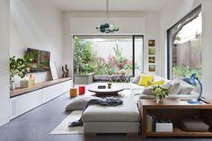 estilo para el mueble de debajo de las ventanas del salón