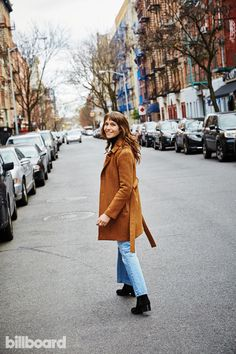 As Mozart in the Jungle tries for a second straight Golden Globe win for best musical/comedy series, its 26-year-old star takes Billboard to her real-life Big Apple haunts.