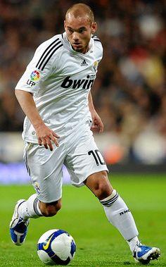 Netherlands International Wesley Sneijder on Real Madrid
