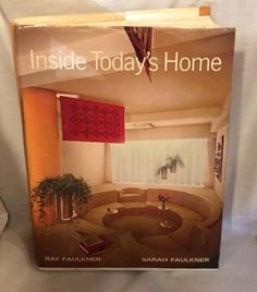Inside Today's Home Third Edition 1968 by Vintageroyaleny on Etsy https://www.etsy.com/listing/506380499/inside-todays-home-third-edition-1968