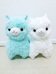 ❤ Blippo.com Kawaii Shop ❤ adorable parejita de llamas