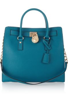 MICHAEL Michael Kors | Hamilton large textured-leather tote | NET-A-PORTER.COM