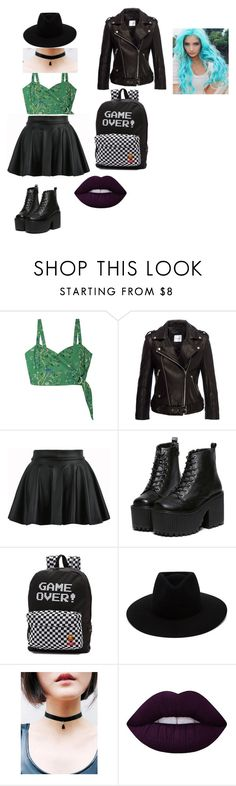 """""""sky"""" by amberthearle on Polyvore featuring Samantha Pleet, Anine Bing, Vans, rag & bone and Lime Crime"""