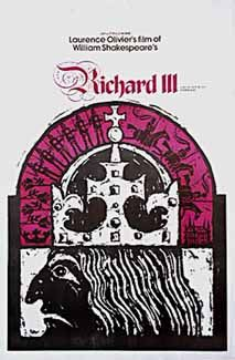 March 11, 1956 – Laurence Olivier's film, Richard III, adapted from Shakespeare's play, premieres in the U.S. in theatres and on NBC Television, on the same day as an afternoon matinée. It is one of the first such experiments of its kind. Olivier is later nominated for an Oscar for his performance.