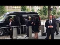 2nd Angle from LEFT side - Hillary Clinton faints 9/11 Ceremony, Second Angle…