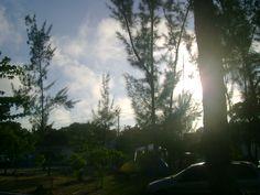 amanhecer no camping