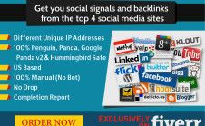 drip Feed Social Media Shares From The Top 5 Sites Over Period Of 7 Days