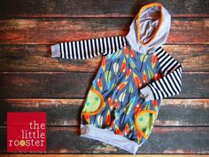 Toddler Hoodie Dress - Fall Feathers - Lillestoff Pluma - TheLittleRoosterShop - Free Domestic Shipping by TheLittleRoosterShop on Etsy https://www.etsy.com/listing/206782702/toddler-hoodie-dress-fall-feathers